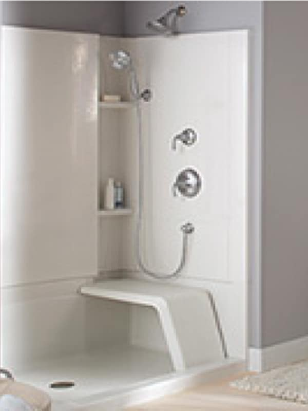 Seated Options For New Shower Installations